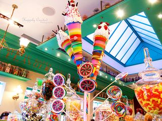 Honeydukes Candy Display