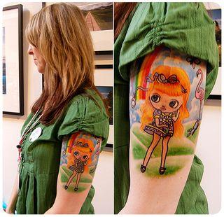 BlytheCon 2009: Sherri's Tattoo