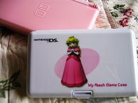 Princess Peach DS Game Holder