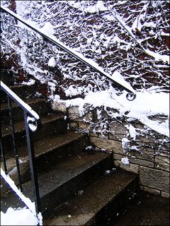 Stairway of Snow